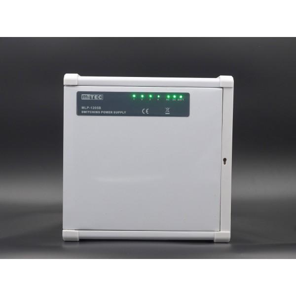 MLP-1205B DC13.8V 5A 開關式電源連充電功能 (PN: 10310905)