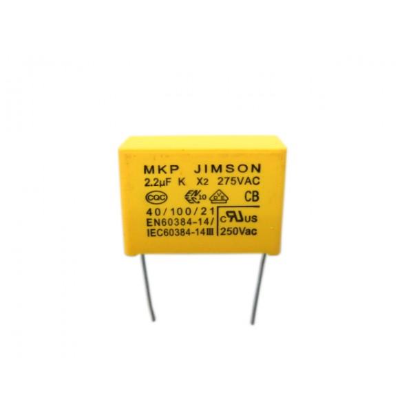 2.2K275V-X2 2.2UF 安規電容 (PN:10820603)