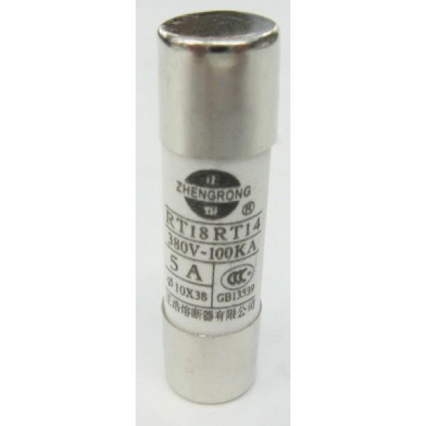 1038-5A/VC 380V 5A 陶瓷保險絲 (PN: 10860215)