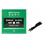 【miTEC】MCP-15/G 綠色明裝緊急開門制 (PN: 11160058)